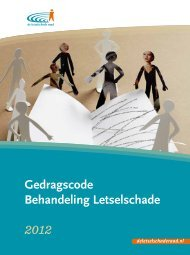 Gedragscode Behandeling Letselschade 2012 - Verbond van ...