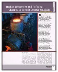 Higher Treatment and Refining Charges to.. - Metalworld.co.in