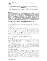A tutoria no Programa de Capacitação a Distância de ... - cinted/ufrgs