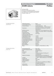 Hengstler AC58 mit Profibus - Schlaps GmbH