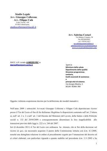 Studio Legale Avv. Giuseppe Collerone Avv. Filippo ... - a.na.d.ma.