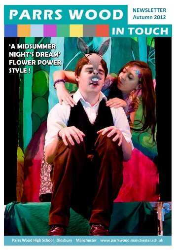 'a midsummer night's dream' - Parrs Wood High School