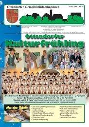 März 2006 / Nr. 88 (2,87 MB) - Ottendorf an der Rittschein