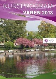 VÅREN 2013 - Arbetsgivarföreningen KFO