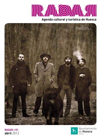 Agenda cultural y turística de Huesca abril 2012 - Ayuntamiento de ...