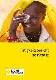 Tätigkeitsbericht 12 - Licht für die Welt