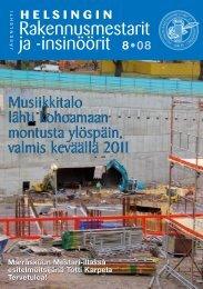 Yhdistyksen jäsenlehti 8/08, PDF tiedosto - Helsingin ...