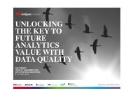 unlocking the key to future analytics value with data quality