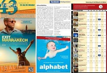 alphabet - Thalia Kino