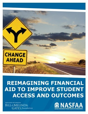 Reimagining Financial Aid to Improve Student Access and Outcomes