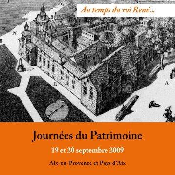 Journées du Patrimoine - Aix-en-Provence