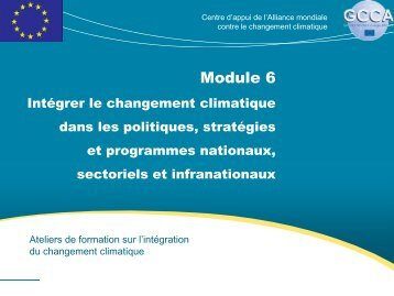Module 6 - Global Climate Change Alliance