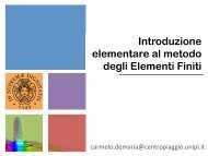2013-04-22 Introduzione Elementi Finiti e Analisi Termica