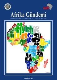Afrika Gündemi MART 2012 - Ankara Üniversitesi