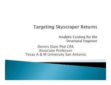 Targeting Skycraper Returns - SEAoT