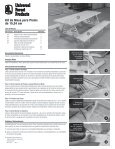 6-Foot Picnic Table Kit Installation Instructions - Universal Forest ... - Page 2