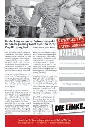 Juli - DIE LINKE. Katrin Werner