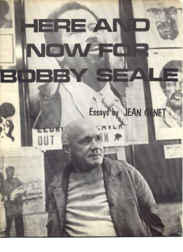 Essays by Jean Genet - It's About Time
