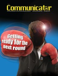 The Communicator Vol. 27, No. 7 July-August 2010