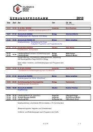 u ebungsprogramm 2010