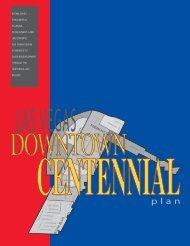 Las Vegas Downtown Centennial Plan - City of Las Vegas