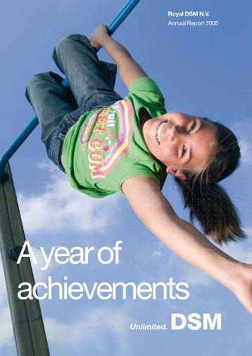 Annual Report 2005 - DSM