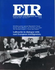 Executive Intelligence Review