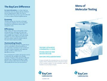 Baycare Nursing Program - Pre-Nursing Students - allnurses