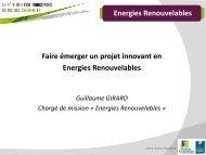 Energies Renouvelables Introduction Les énergies renouvelables