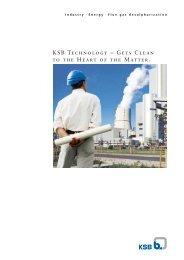 Flue Gas Desulphurization - KSB