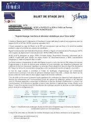 Apprentissage machine et décision statistique pour l'éco-radio - IETR