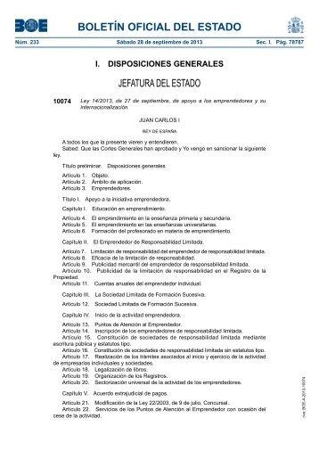 Disposición 10074 del BOE núm. 233 de 2013 - Umivale