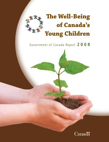 The Well-Being of Canada's Young Children - Canadian Coalition ...