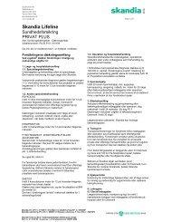 forsikringsbetingelser - Pharmadanmark