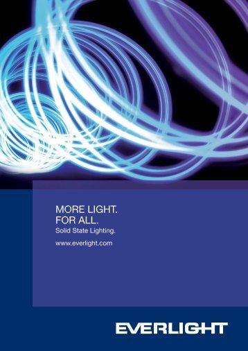 MORE LIGHT. FOR ALL. - Avnet Electronics Marketing