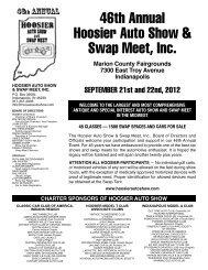 46th Annual Hoosier Auto Show & Swap Meet, Inc.