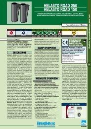 HELASTO ROAD 250 HELASTO ROAD 150 - Index S.p.A.