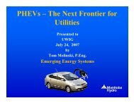 PHEVs – The Next Frontier for Utilities