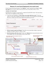 Beware of a new Social Engineered virus email scam! - New Jersey ...