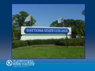 EMHE Grantee Showcase #2: Daytona State College