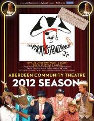 Program - Aberdeen Community Theatre