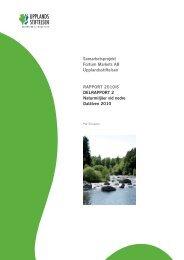 Delrapport 2 Fortum 2010 - Upplandsstiftelsen