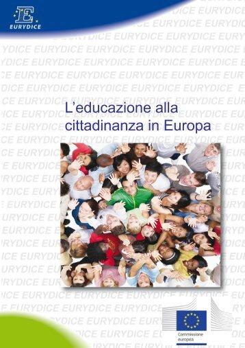 L'educazione alla cittadinanza in Europa - EACEA - Europa