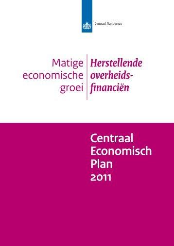 [PDF] Centraal Economisch Plan 2011
