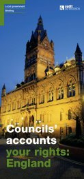 Councils' accounts your rights - Worcestershire County Council
