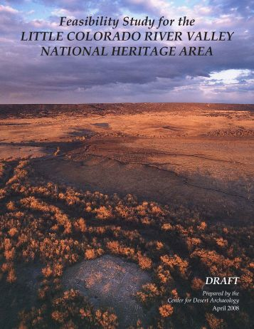 Feasibility Study for the Little Colorado River Valley National ...