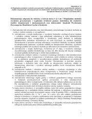 Załącznik nr 1 A - Akademia Wychowania Fizycznego w Krakowie