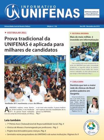 Edição 136 - Novembro/2010 - Unifenas