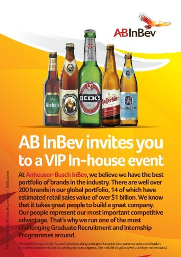 AB InBev invites you
