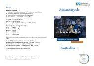 Auslandsguide Australien… - Volksbank Kinzigtal eG